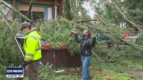 Graham couple says mere inches saved them from powerful wind storm