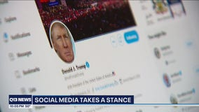 President Trump is back on Twitter, accounts remain blocked on Facebook and Instagram