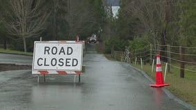 Landslide forces evacuations, road closure along Hood Canal
