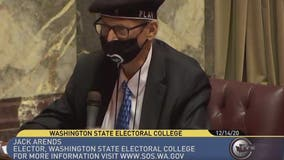 Washington State elector repulsed by violence at US Capitol