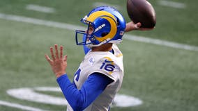 Jared Goff active for LA Rams less than 2 weeks after surgery