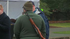 Open carry of weapons now prohibited at rallies, Washington state Capitol