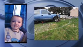 AMBER Alert update: 2-year-old Spokane boy found safe inside vehicle, one possible suspect detained