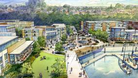 Fans blow landfill's methane gas away from new Everett development