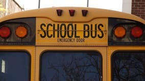 4 students, bus driver taken to hospital after Lewis County school bus goes off roadway