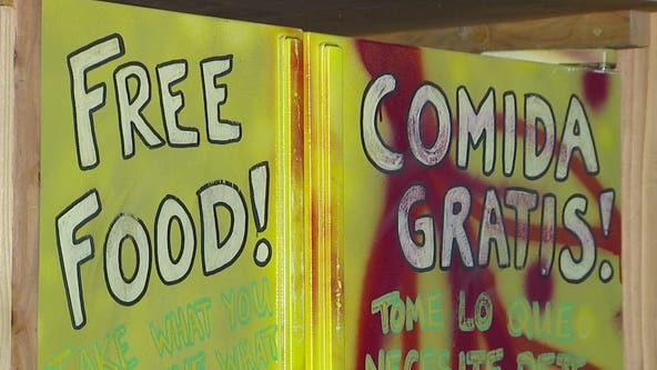 Community fridges supply free food to Seattle neighborhoods