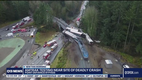 Amtrak to test trains at Point Defiance Bypass this weekend