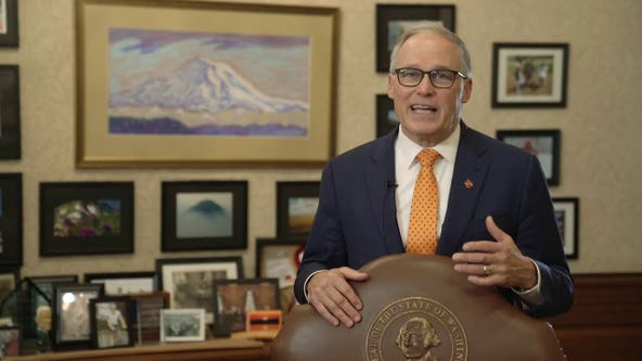 In inaugural address, Inslee says Washington state must work toward a 'new normal'