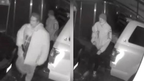 Helping ID men seen on surveillance video could solve shooting of victim who had just deboarded bus
