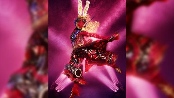 'The Masked Dancer': Miss Moth flutters off stage in big reveal