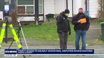 Deadly shooting investigation tied to large house party