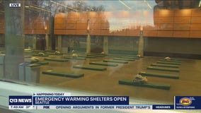 Warming shelters now open in King County ahead of winter weather