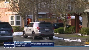 Redmond police investigating 'suspicious' death of 3-month-old child