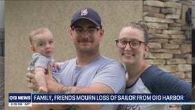 'One of the greatest men I ever met:' 26-year-old Gig Harbor Navy sailor dies from COVID-19 complications