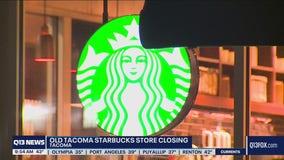 Old Tacoma Starbucks closing