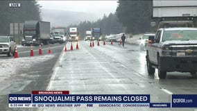 Extended closure at Snoqualmie Pass