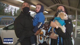 An adorable surprise for a special South Sound child