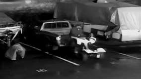 Help ID heavy-lifting thief seen single-handedly stealing ATV from motorsports store