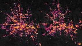 Texas power outages seen from space in stunning before-and-after photos