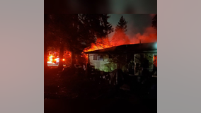Bellevue firefighters rescue man trapped in his bedroom during house fire
