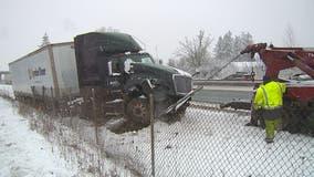 Storm piles snow onto Lewis County