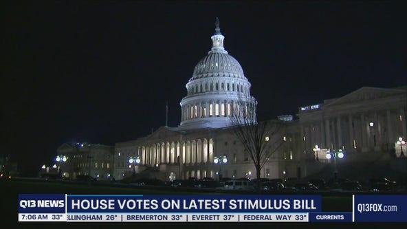 House passes $1.9 trillion relief bill