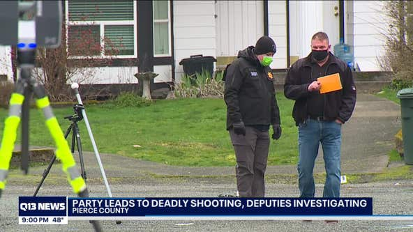 2 shot, 1 killed at large house party in Puyallup
