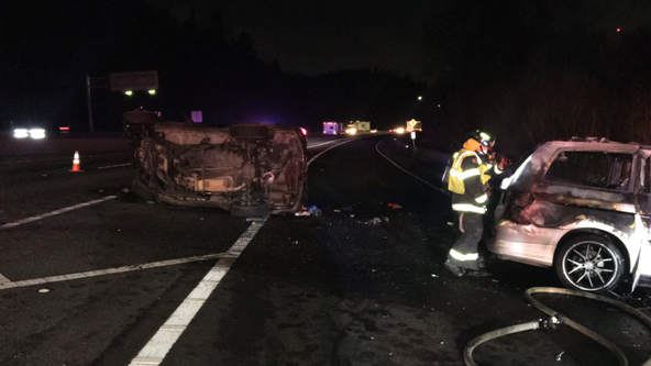 One dead in wrong-way head-on collision on SR 18