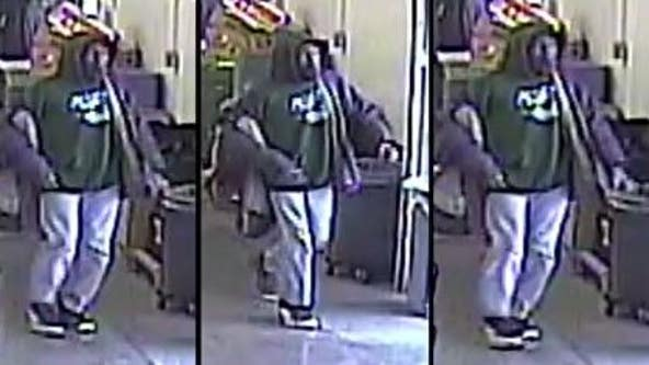 Help ID attempted robbery suspect who threatened grocery store workers with knife, pepper spray