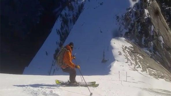 2 skiers defy death in descent of Yosemite's Half Dome