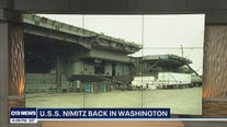 USS Nimitz back in Washington