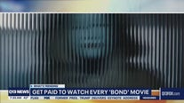 Get paid to watch James Bond movies