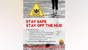 'Stay off the mud:' Crews issue warning after child rescued from Whidbey Island mudflats