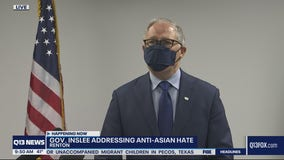 Inslee condemns rise in violence against Asian Americans