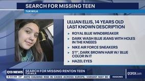 Renton teen missing