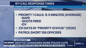 Seattle Council considers more police cuts