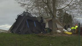 Homeless encampments cleared from Bellingham parks twice in 3 days