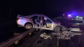 Serious injuries reported after wrong-way crash in Auburn