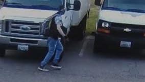 Neighbor helps Mountlake Terrace food bank find stolen van; help ID destructive auto thief who took it