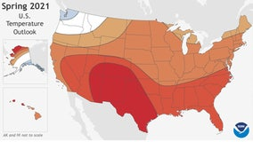 Warm spring ahead: NOAA predicts above-average temperatures across most of US