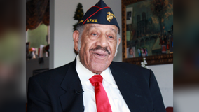 Saluting African American WWII veteran who broke barriers and lifted up others