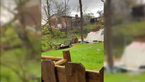 Deadly tornado outbreak in South causes 5 confirmed deaths and major damage across the region