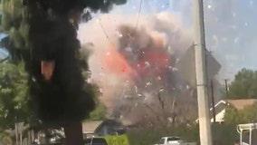 Ontario explosion: 2 killed when massive cache of fireworks detonate