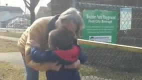 'I missed you so much': Grandma hugs grandson for the first time after getting COVID-19 vaccine