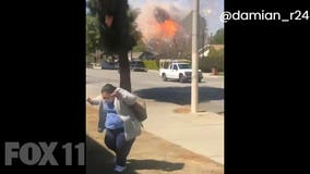Ontario Explosion: Video shows the exact moment the fireworks go off, rattling neighborhood