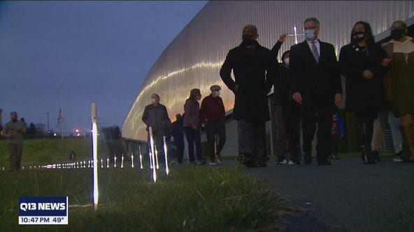 Tacoma holds vigil for those who have died from COVID-19