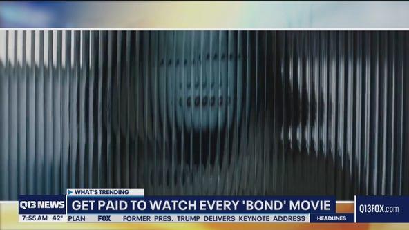 Get paid to watch James Bond movies