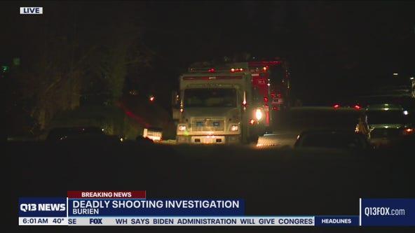 Deadly shooting in Burien