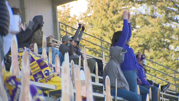 After lobbying North Kitsap High parents are allowed in to a football game