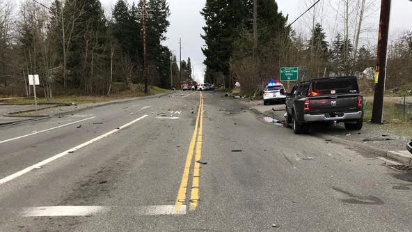 Person killed in suspected high-speed crash in Pierce County
